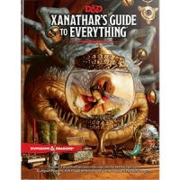 D&D/RPG: Xanathars Guide to Everything (eng)
