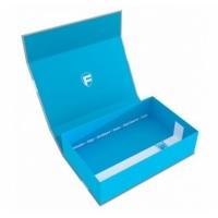 FH: Magnetbox half-size 75mm blau leer