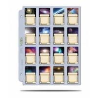 UP: 16-Pocket Platinum Page with 41mm x 63mm Pocket