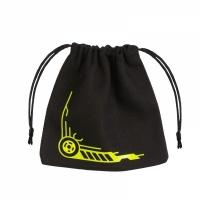 QWS: Galactic Black & yellow Dice Bag