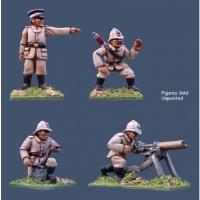 PF/IG: German Seebataillon Maxim Gun Crew