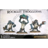 GW/AoS: Gloomspite Gitz Rockgut Troggoths