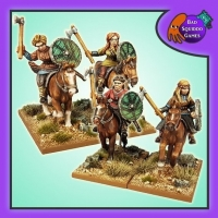 BQG: Mounted Shieldmaiden Warriors
