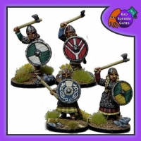 BQG: Shieldmaiden Hearthguard with axes