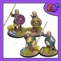 BQG: Shieldmaiden Hearthguard with Spears