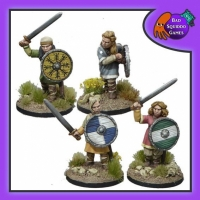 BQG: Shieldmaiden Warriors with Swords
