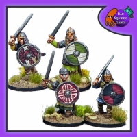 BQG: Shieldmaiden Hearthguard with Swords