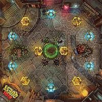 Vorbestellung - PP/RQ: Thunderhead Fortress – Riot Quest fabric playmat