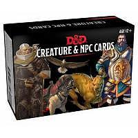 D&D/RPG: Monster Cards: NPCs & Creatures