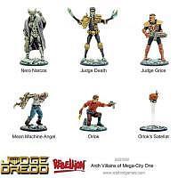 Vorbestellung - WG/JD: Arch Villains of Mega City 1