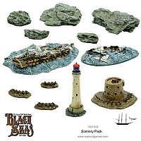 Vorbestellung - WG/BS: Black Seas scenery pack
