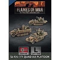 BF/FoW4: SdKfz 7/1 Quad AA Platoon