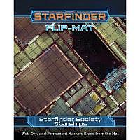 Vorbestellung - SF/RPG: Starfinder Flip-Mat: Society Starships