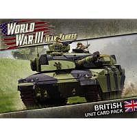 Vorbestellung - BF/TY: World War III: British Unit Card Pack