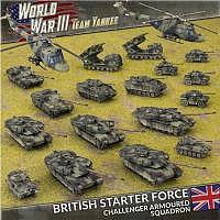 Vorbestellung - BF/TY: British Starter Force: Challenger Armoured Squadron
