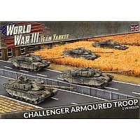 Vorbestellung - BF/TY: Challenger Armoured Troop (Plastic)