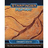 Vorbestellung - SF/RPG: Flip-Mat: Desert World