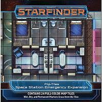 Vorbestellung - SF/RPG: Flip-Tiles: Space Station Emergency Expansion