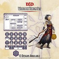 D&D/RPG: Warlock Token Set