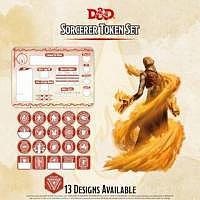 D&D/RPG: Sorcerer Token Set