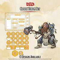 D&D/RPG: Cleric Token Set