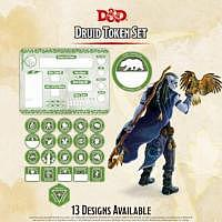 D&D/RPG: Druid Token Set