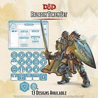 D&D/RPG: Paladin Token Set