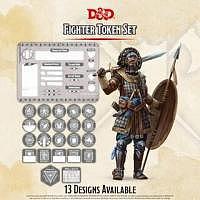D&D/RPG: Fighter Token Set