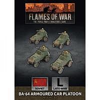 Vorbestellung - BF/FoW4: Soviet LW BA-64 Armoured Car Platoon