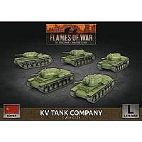 Vorbestellung - BF/FoW4: Soviet LW KV-8 Flame-Tank Company
