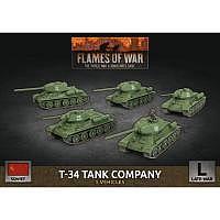Vorbestellung - BF/FoW4: Soviet LW T-34 Tank Company