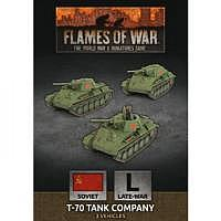 Vorbestellung - BF/FoW4: Soviet LW T-70 Tank Company
