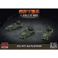 Vorbestellung - BF/FoW4: Soviet LW ZSU M17 Anti-Aircraft Platoon