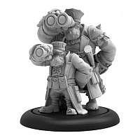 Vorbestellung - PP/H: Trollblütige Trollkin Gunnery Sergeant (resin/metal)