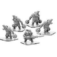 Vorbestellung - PP/MP: Bashers and Blaster – Legion of Mutates Unit (metal)