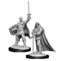 Vorbestellung - D&D/RPG: Nolzurs Marvelous Unpainted Miniatures: W13 Human Paladin Male