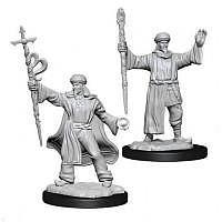 Vorbestellung - D&D/RPG: Nolzurs Marvelous Unpainted Miniatures: W13 Human Wizard Male