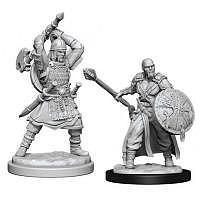 Vorbestellung - D&D/RPG: Nolzurs Marvelous Unpainted Miniatures: W13 Human Barbarian Male