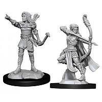 Vorbestellung - D&D/RPG: Nolzurs Marvelous Unpainted Miniatures: W13 Elf Ranger Female