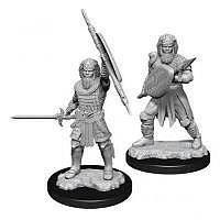 Vorbestellung - D&D/RPG: Nolzurs Marvelous Unpainted Miniatures: W13 Human Fighter Male