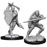 Vorbestellung - D&D/RPG: Nolzurs Marvelous Unpainted Miniatures: W13 Warforged Fighter Male