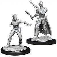 Vorbestellung - D&D/RPG: Nolzurs Marvelous Unpainted Miniatures: W13 Shifter Rogue Female