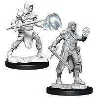 Vorbestellung - D&D/RPG: Nolzurs Marvelous Unpainted Miniatures: W13 Multiclass Fighter & Wizard Male