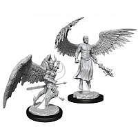 Vorbestellung - D&D/RPG: Nolzurs Marvelous Unpainted Miniatures: W13 Deva & Erinyes