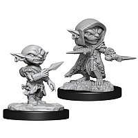 Vorbestellung - RPG: WizKids Deep Cuts Unpainted Miniatures: W13 Goblin Rogue Male