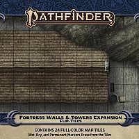 Vorbestellung - P2/RPG: Flip-Tiles: Fortress Walls & Towers Expansion