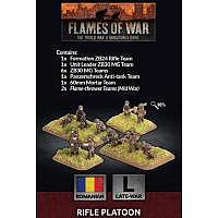 Vorbestellung - BF/FoW4: Romanian Rifle Platoon