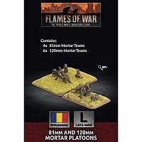 Vorbestellung - BF/FoW4: 81mm and 120mm Mortar Platoons