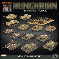 Vorbestellung - BF/FoW4: Hungarian Starter Force Zrinyi Assault Gun Battery Battlefront Miniatures