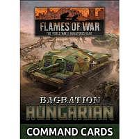 Vorbestellung - BF/FoW4: Bagration Hungarian Command Card Pack